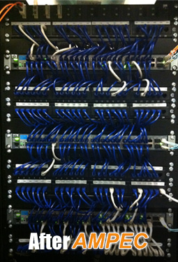 structured cabling after